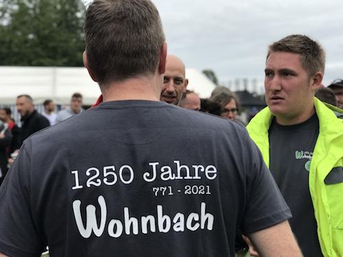 1250 Jahre Wohnbach T-Shirt