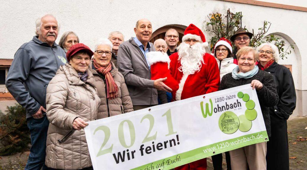 Spende vom Wohnbacher Nikolausmarkt