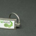 Wohnbach 1250 Jahre-Schlüsselanhänger-eckig