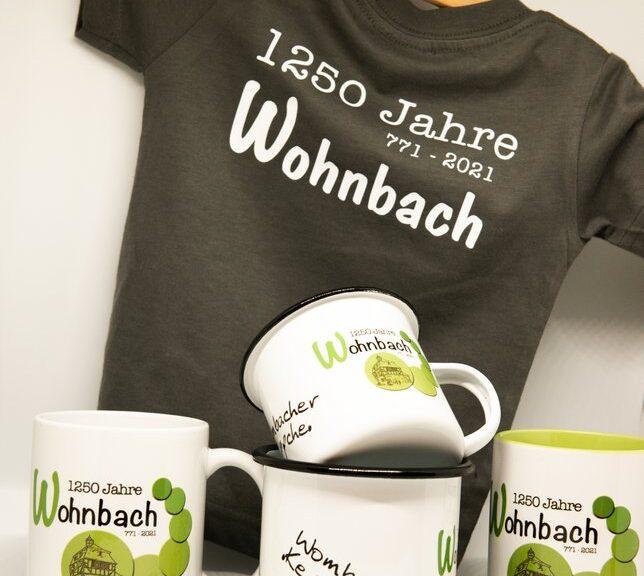 Wohnbach 1250 Jahre-Merchandise