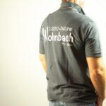 Wohnbach 1250 Jahre-Polo-Shirt-Rücken