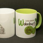 Wohnbach 1250 Jahre-Tasse-Porzellan