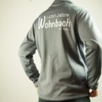 Wohnbach 1250 Jahre-Trainingsjacke-Rücken