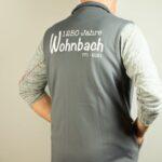Wohnbach 1250 Jahre-Weste