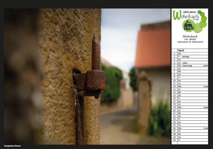 Wohnbach Kalenderbild Pfarrhaus2