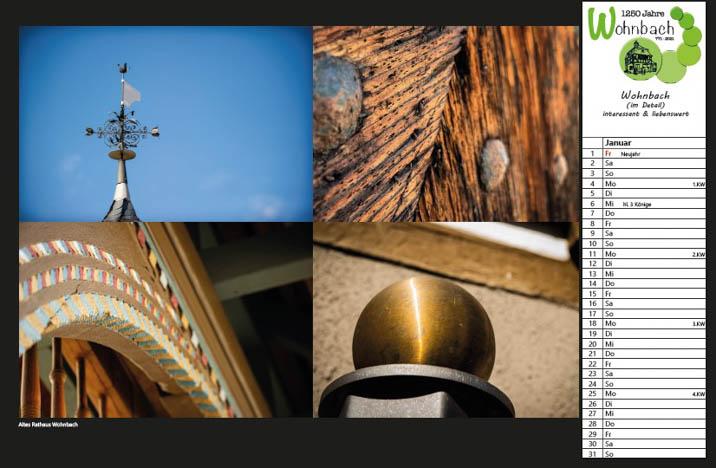 Wohnbach Kalenderbild Rathaus2
