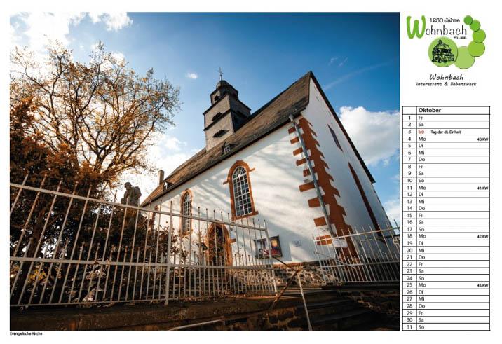 Wohnbach-Kalender-Kirche